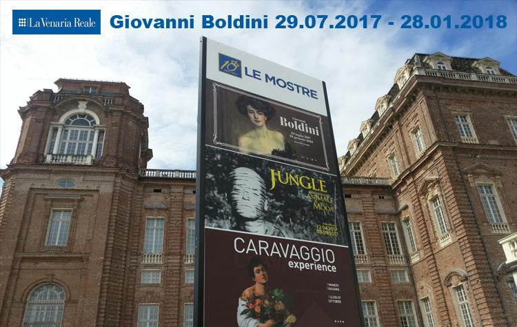 Giovanni Boldini a la Reggia di Venaria
